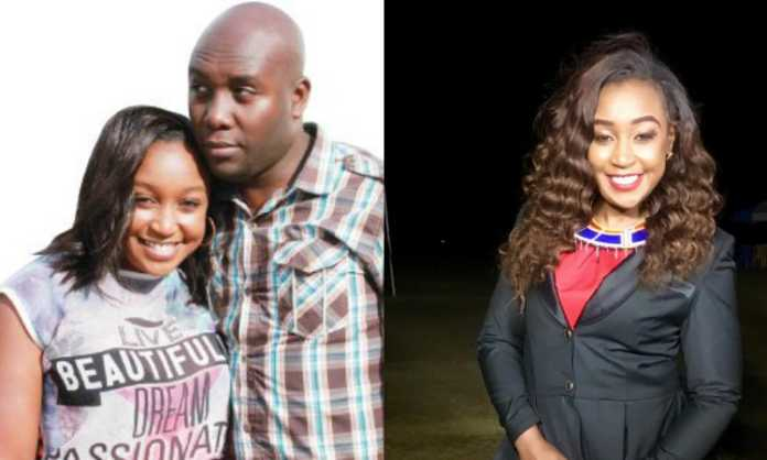 Betty Kyallo and Dennis Okari