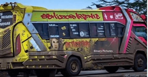 schizopheric aka the ambulance - Hottest Rides In Town! Check Out Nairobi's Trendiest Matatus