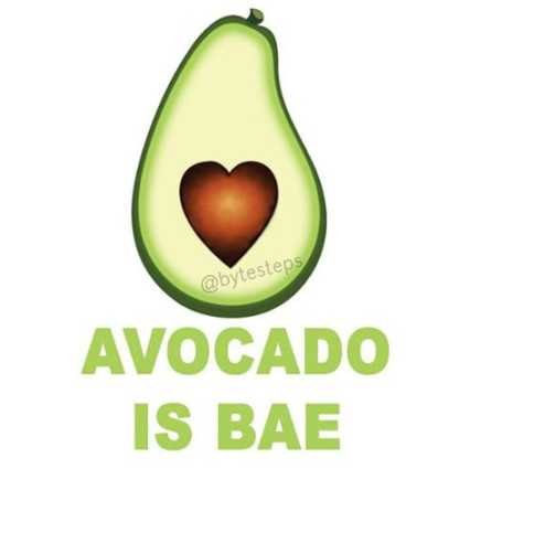 Avocado Is Bae. Photo / @bytesteps