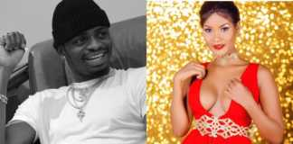 Diamond Platnumz and Hamisa Mobetto