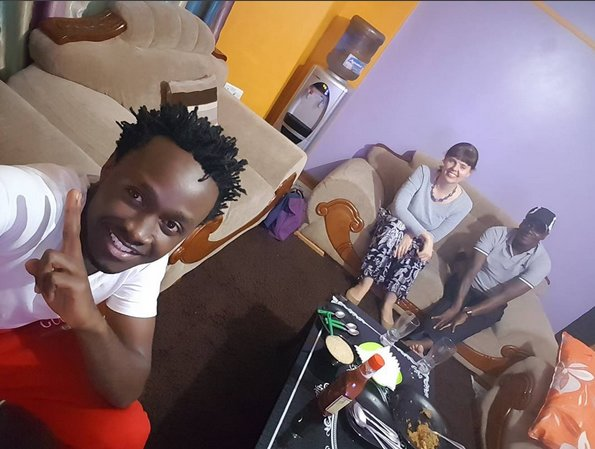 dfr - 'She became a mother I never had,' Bahati's sweet message to mzungu mum