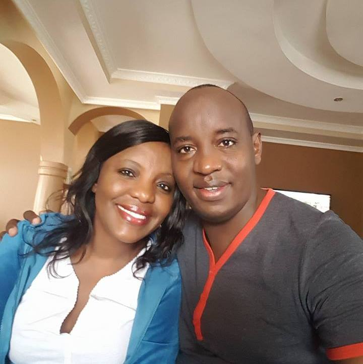 Linus Kaikai and his wife Jacinta Mueni