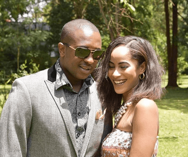 steve mbogo  - Beauty and brains! Meet the beautiful and supportive women behind Kenyan politicians