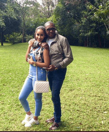 steve mbogo 7 348x420 - Beauty and brains! Meet the beautiful and supportive women behind Kenyan politicians