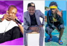 Bahati and Weezdom and Mr Seed
