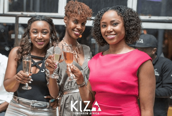 Betty Kyallo at Kiza
