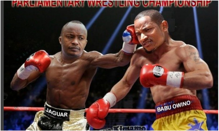 Babu Owino vs Jaguar