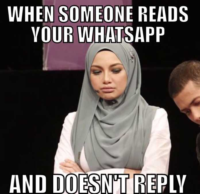 When someone reads your WhatsApp and doesn't reply