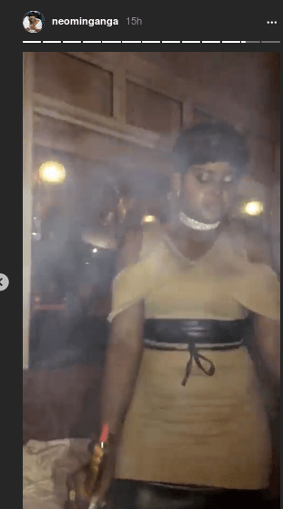 amina moha 23 - Meet The Kenyan Queens Of Shisha-Smoking (PHOTOS)