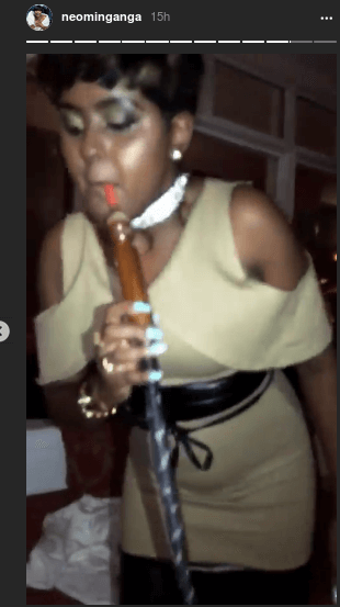 amina moha 4 - Meet The Kenyan Queens Of Shisha-Smoking (PHOTOS)