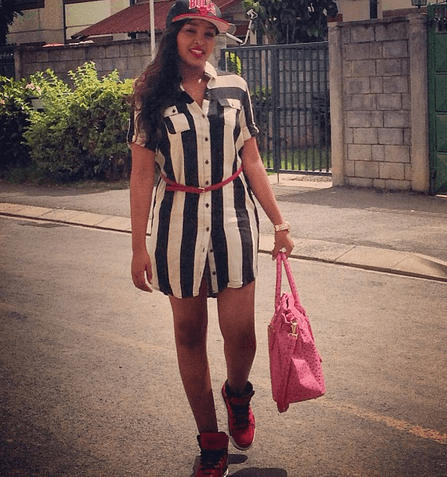 pili pili 17 - Where Is He Now? Meet Pili Pili's Sexy Wife And Daughter (Photos)