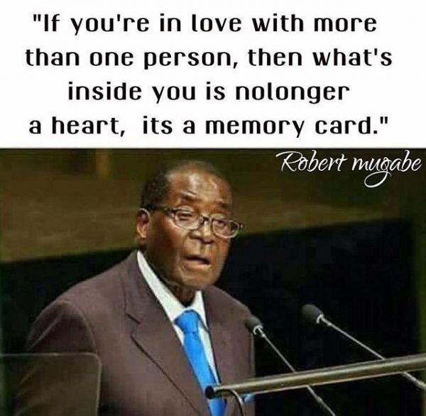 13556842 514818198725151 1789099423 n 600x586 - Uncle Bob Manenos! Check Out Robert Mugabe's Best Memes And Quotes