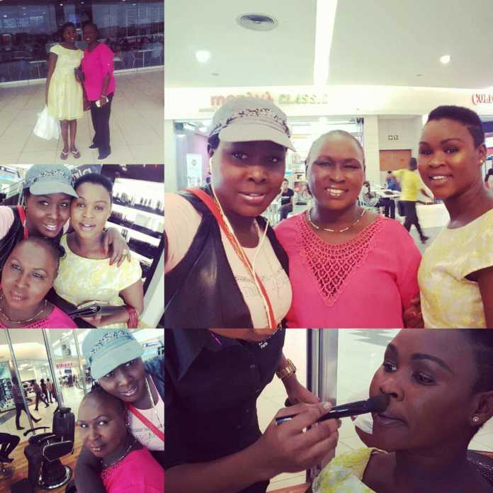 Emmy Kosgei and mumrose