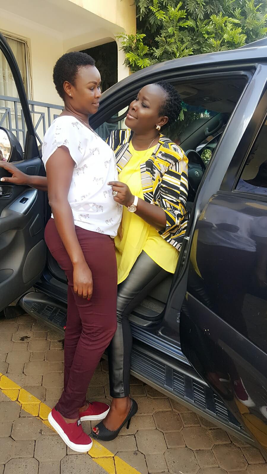 Emmy Kosgei and Mum Rose