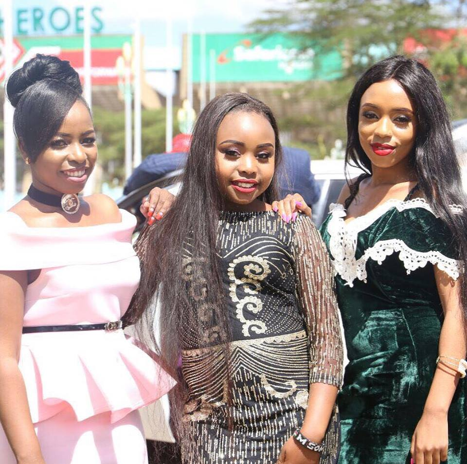 Mike Sonko's daughters