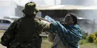 Woman attacked by police in Embakasi