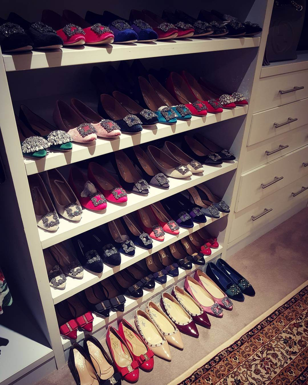Anerlisa shoes4 1 - All About Rich Kid Anerlisa Muigai's Million Bob Shoe Collection