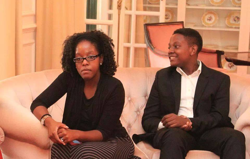 Bona Mugabe and Chatunga - What a man! Robert Mugabe last happy moments with the family