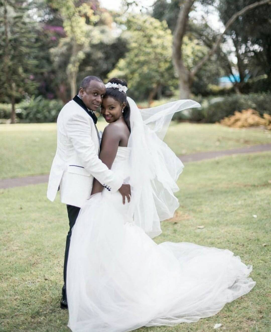 Celina Kamau and Phil Karanja