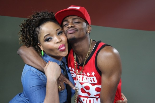 Diamond Platnumz and VJ Penny