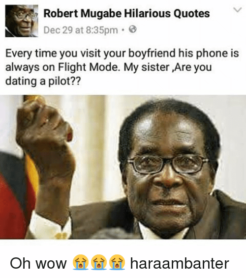 mugabe 10 - Uncle Bob Manenos! Check Out Robert Mugabe's Best Memes And Quotes