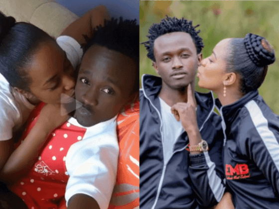Mapenzi niue! Bahati and wife confess their love on video