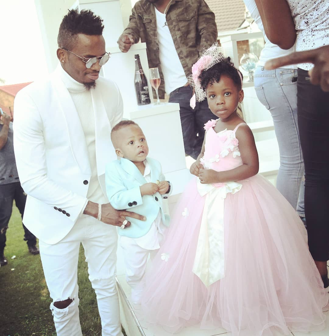 Prince Nillan, Diamond Platnumz' son during his birthday