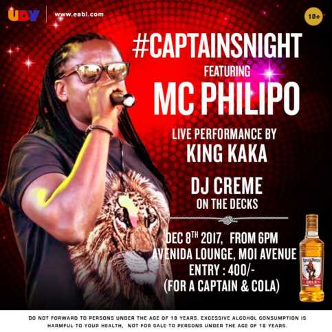 MC Philipo #CaptainsNight