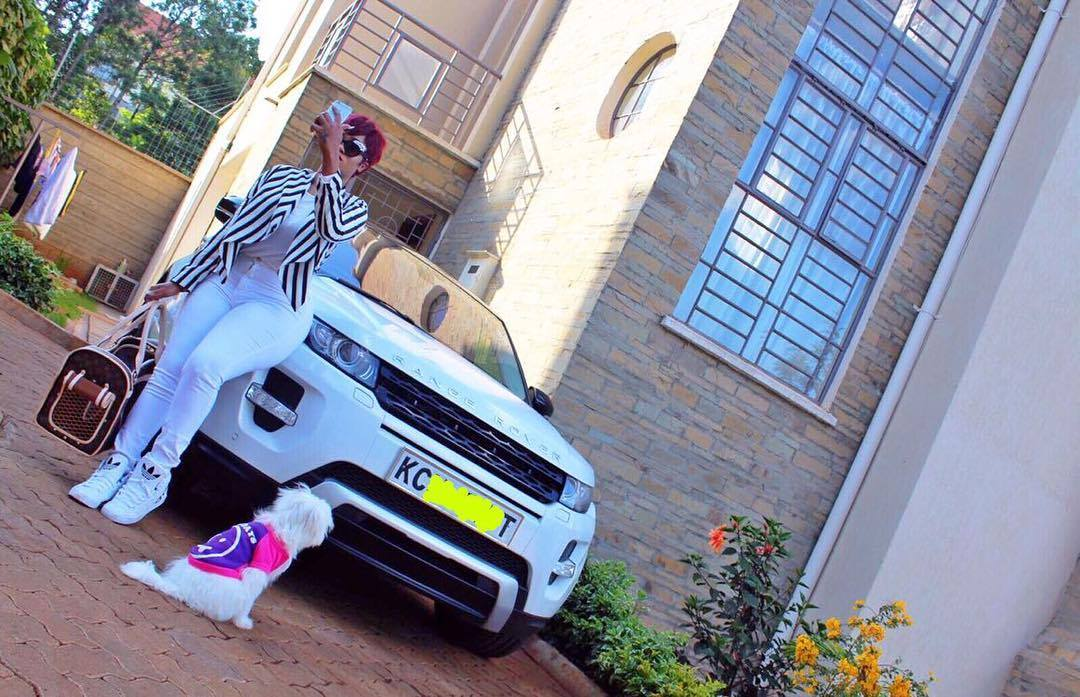 Vera Sidika home and car