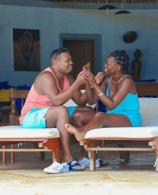Akothee and Nelly Oaks