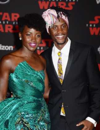 lupita-nyongo and brother