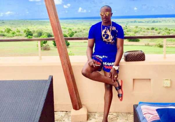 Steve Mbogo on holiday