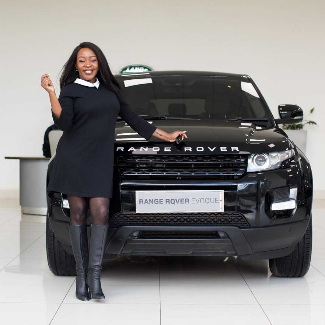 range rover - Check out the machines your favourite celebrities drive