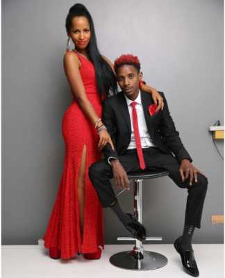 Eric Omondi and Chantal