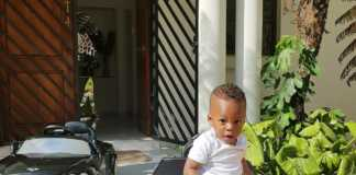 Diamond Platnumz' son