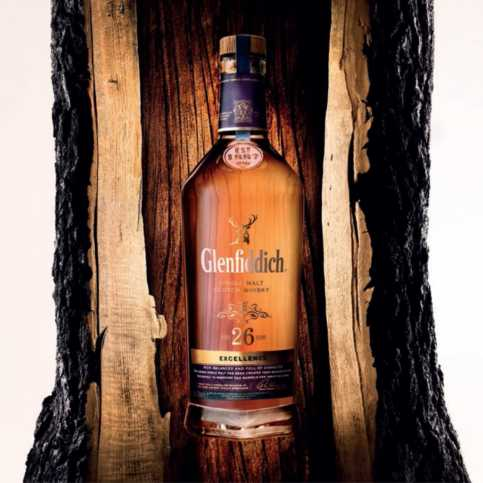 The 26 year old variant of Glenfiddich whisky (also known as Glenfiddich 26)