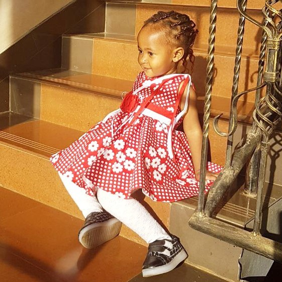Ladasha Belle 1 - 15 hairstyles rocked by Ladasha Belle that will give you baby fever