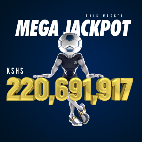 The current Sportpesa Mega Jackpot stands at Ksh 220,691,917. Photo / COURTESY