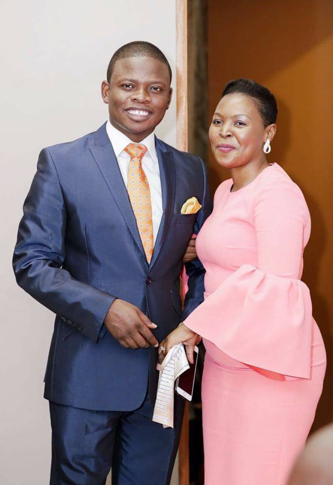 Prophet and his wife - Prophet Bushiri compares his wife to his ex who left him for another man