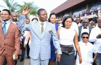 shepherd Bushiri politics in Malawi 350x225 - Prophet Bushiri compares his wife to his ex who left him for another man