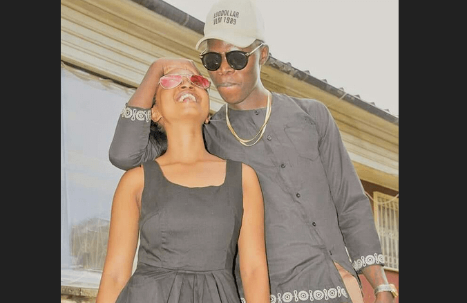 Vicmass Luodollar and baby mama