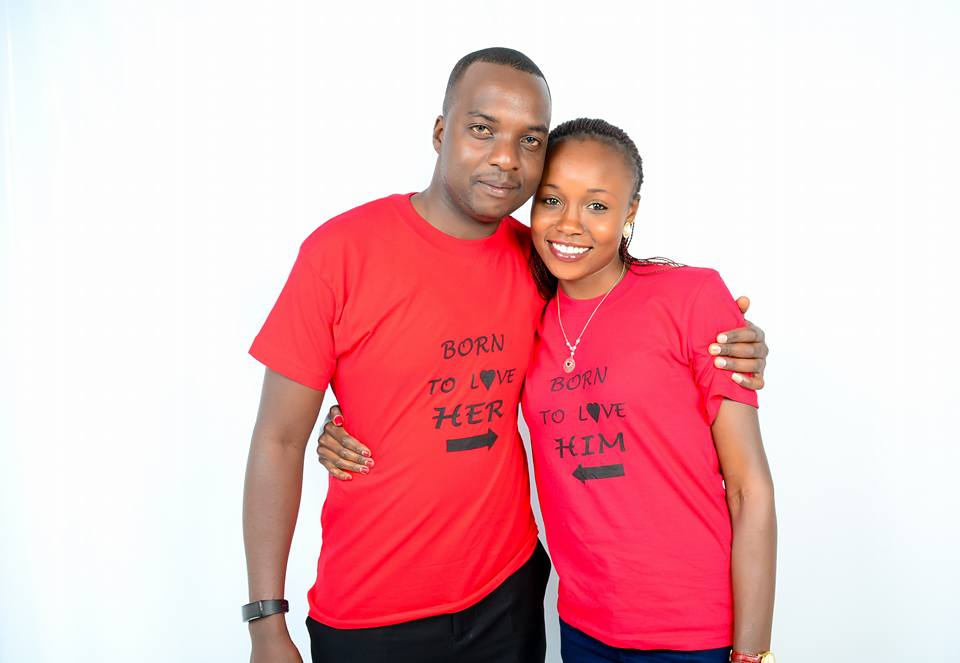 Mercy Cherono and her husband Edmond Ng'etich