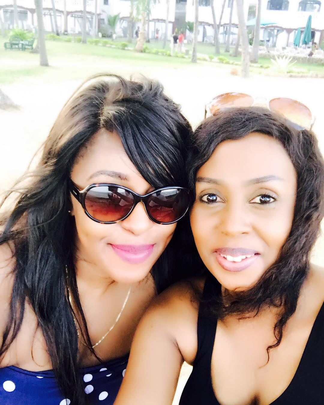 Lillian Muli and friend