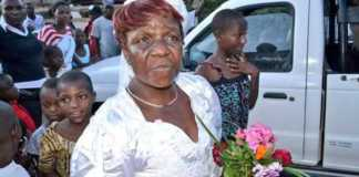 57-year-old Zimbabwean woman who wedded a man half her age