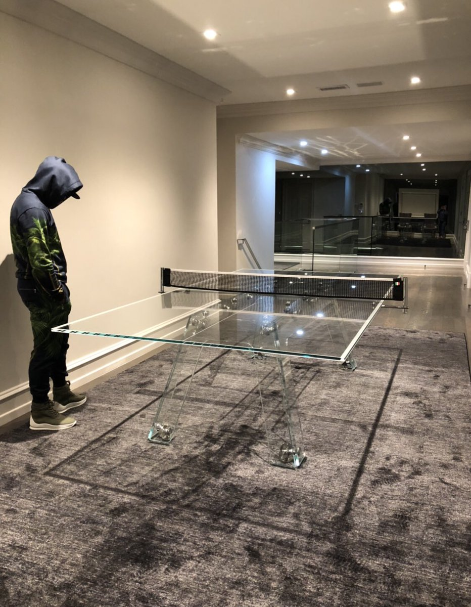 Mayweather table-tennis table worth 3 million shillings