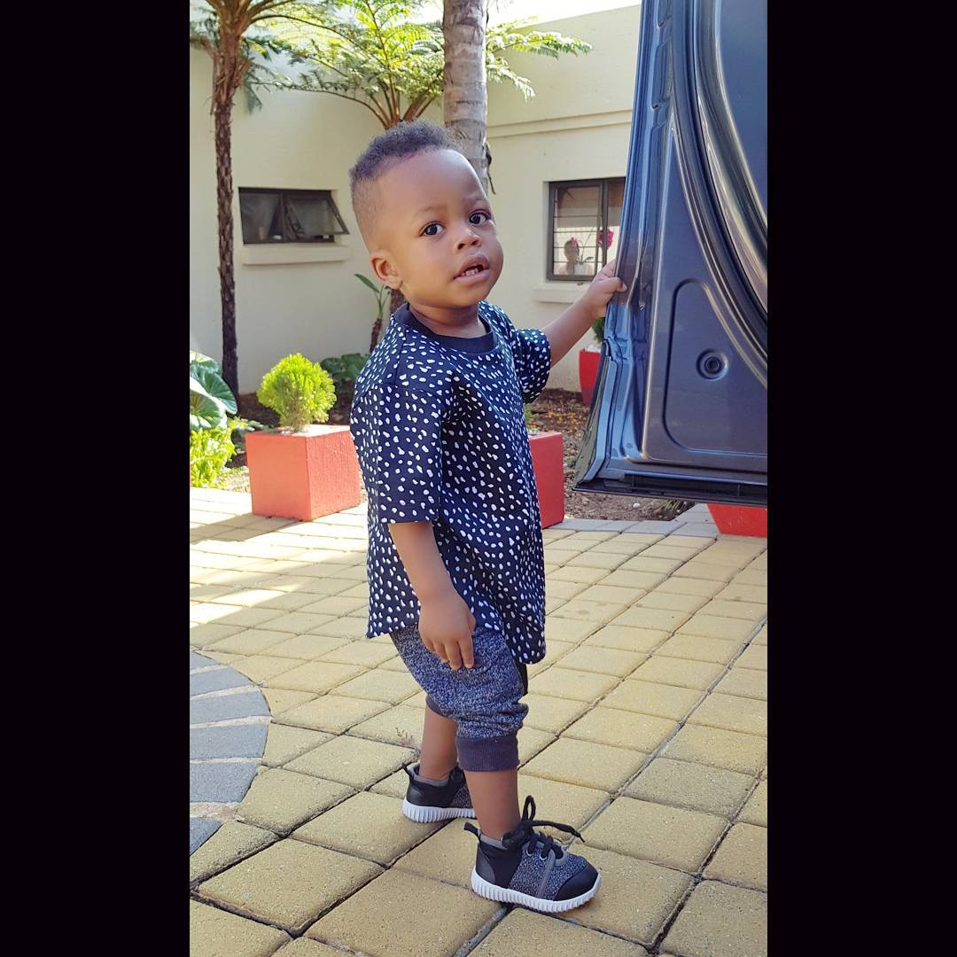 Prince Nillan style - Check out Diamond Platnumz' heir, Prince Nillan flaunting his cars
