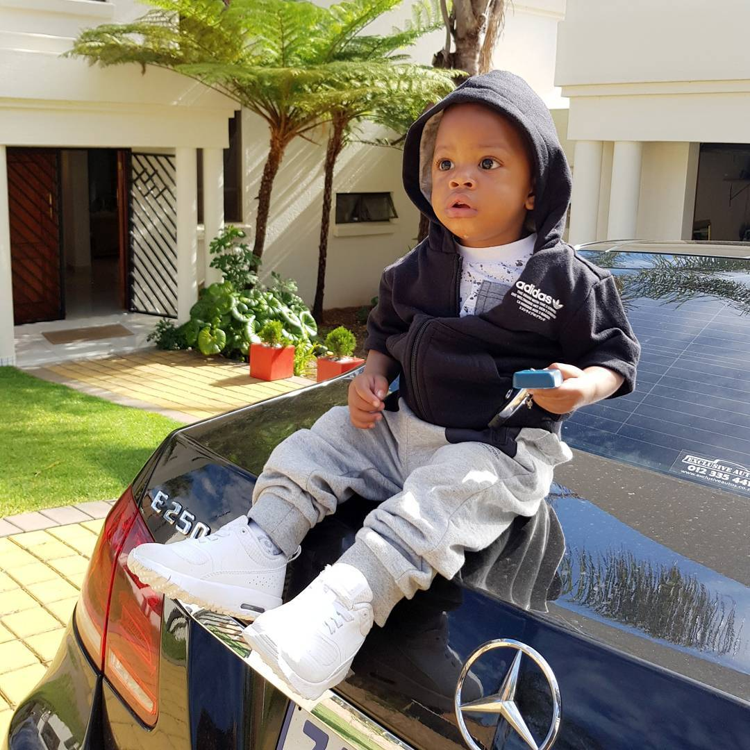 Prince Nillan style2 - Check out Diamond Platnumz' heir, Prince Nillan flaunting his cars