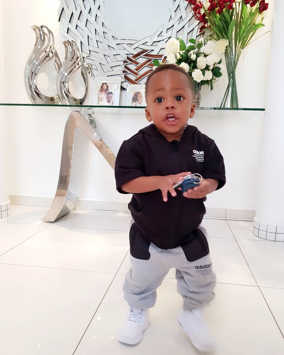 Prince Nillan style3 - Check out Diamond Platnumz' heir, Prince Nillan flaunting his cars