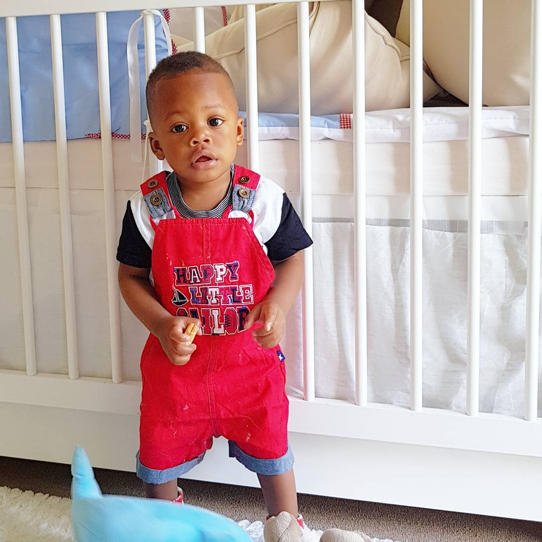Prince Nillan style6 - Check out Diamond Platnumz' heir, Prince Nillan flaunting his cars