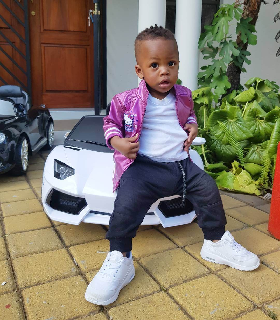 Prince Nillans car5 - Check out Diamond Platnumz' heir, Prince Nillan flaunting his cars